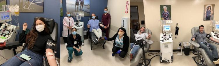 Convalescent Plasma Donation Patients