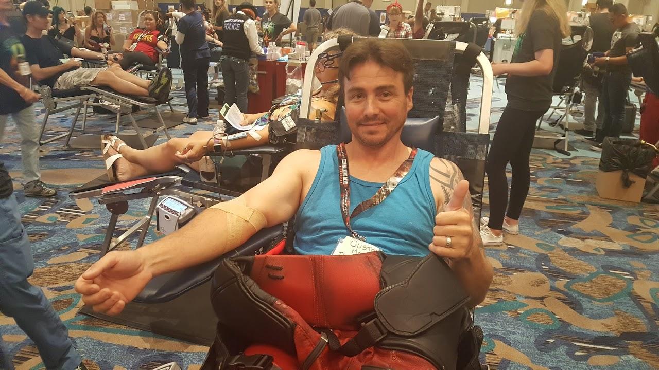 Robert A. Heinlein Comic-Con International Blood Drive