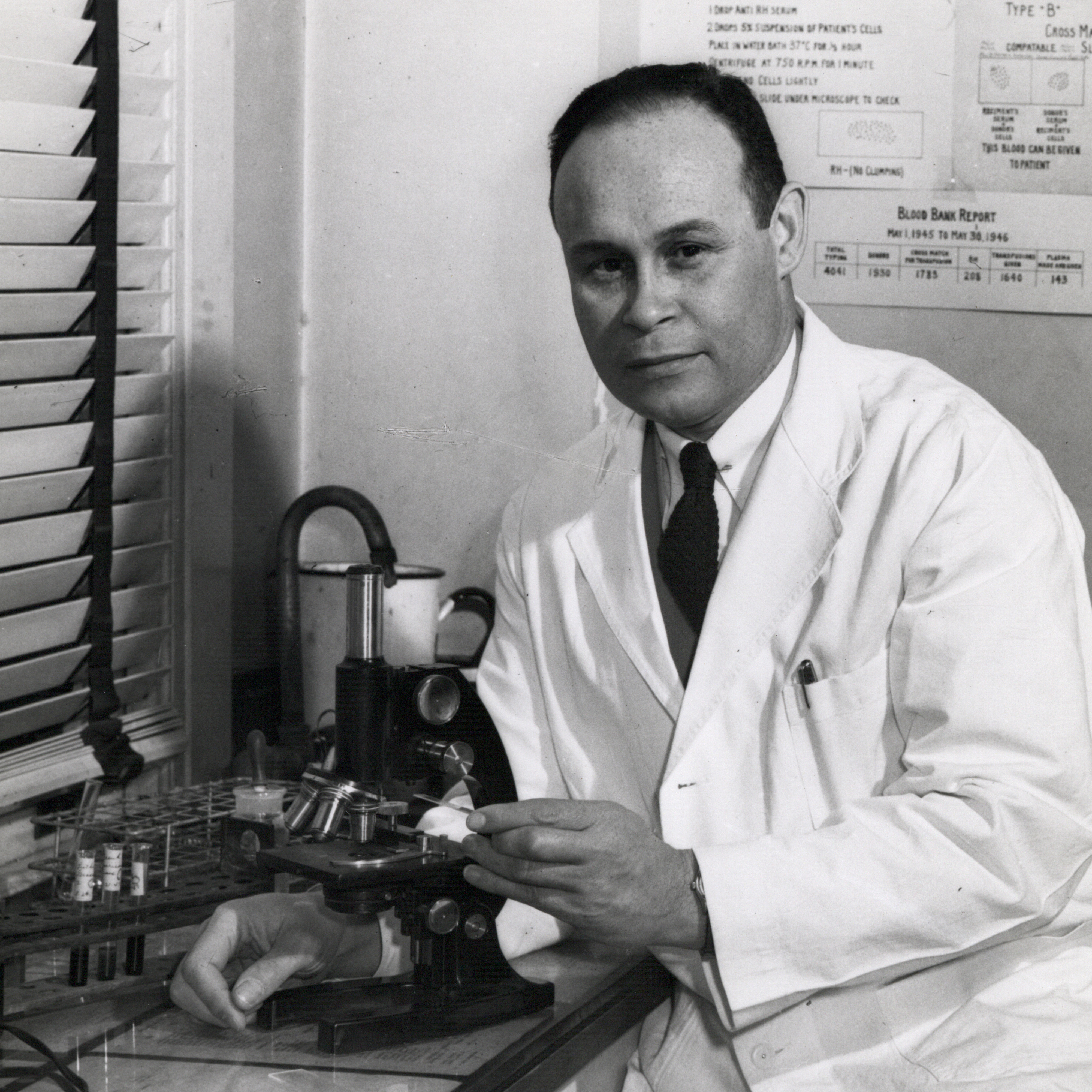 Portrait of Dr. Charles Drew