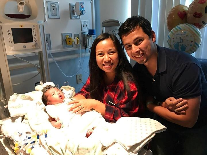Odin Orion with his parents - San Diego Blood Bank