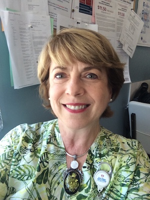 SDBB staff member Mary Kennington
