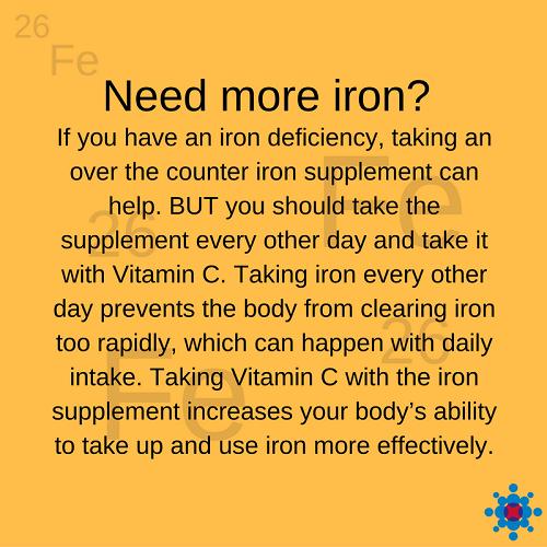 How do I get more iron?