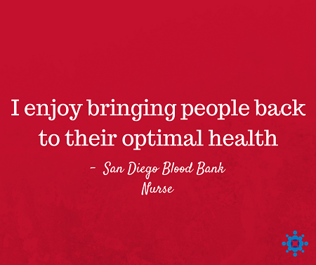 Nurses Week San Diego Blood Bank