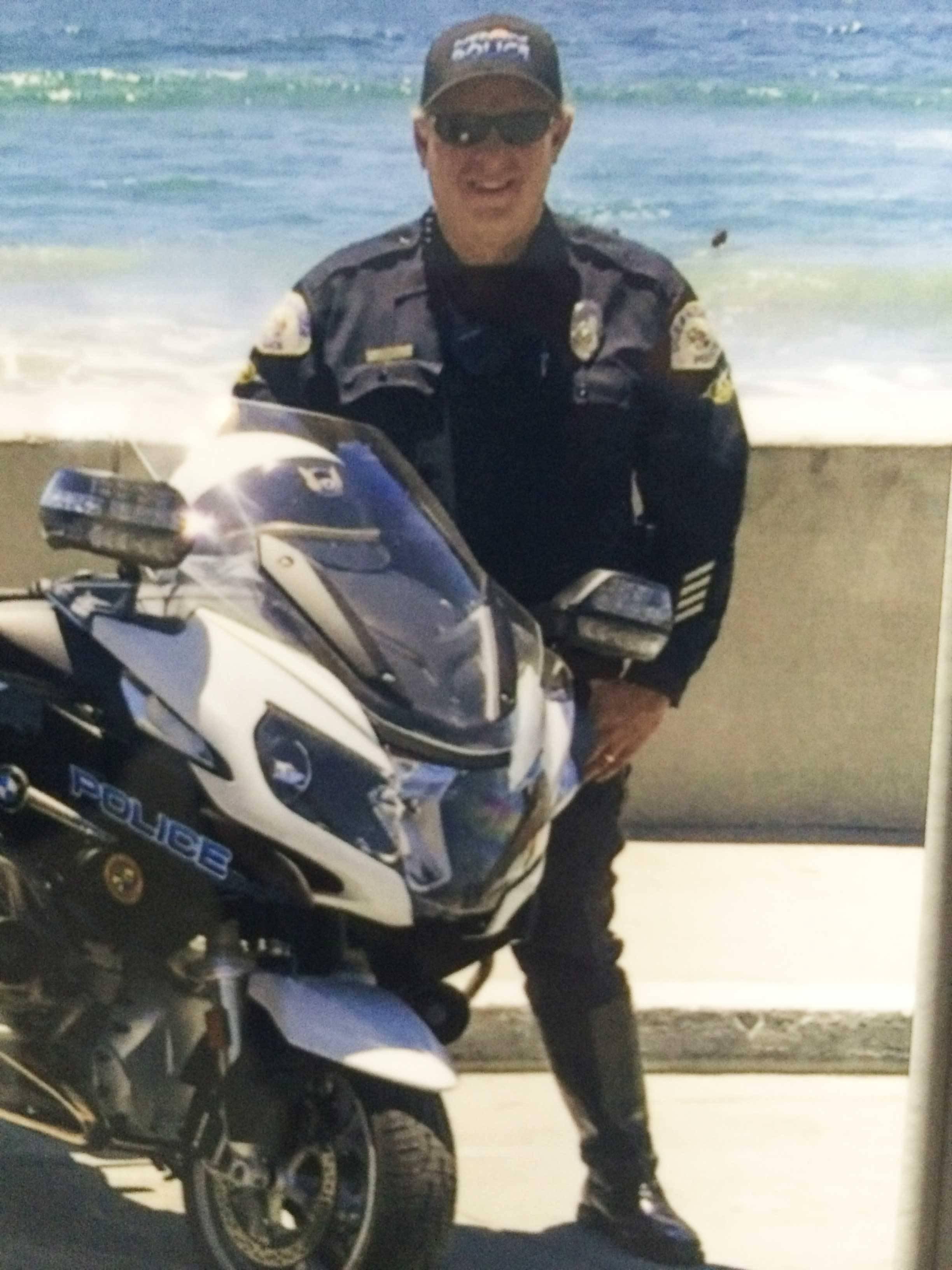 Officer Brad Hunter of the Oceanside Police Department
