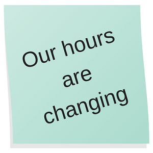 Our hours are changing at the San Diego Blood Bank