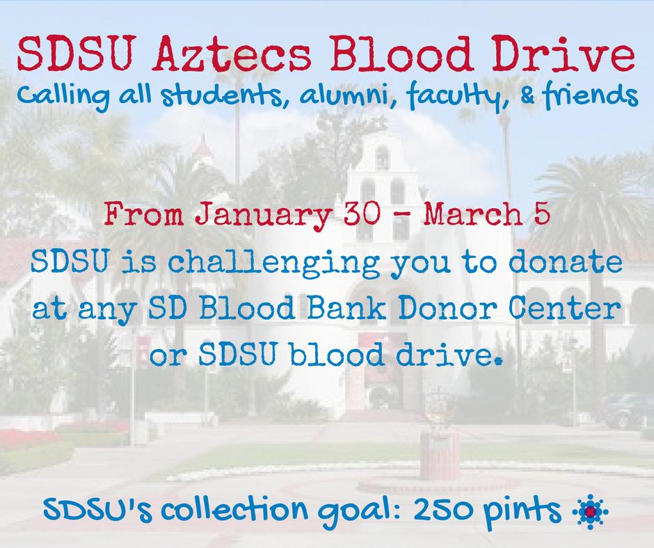 SDSU Blood Drive