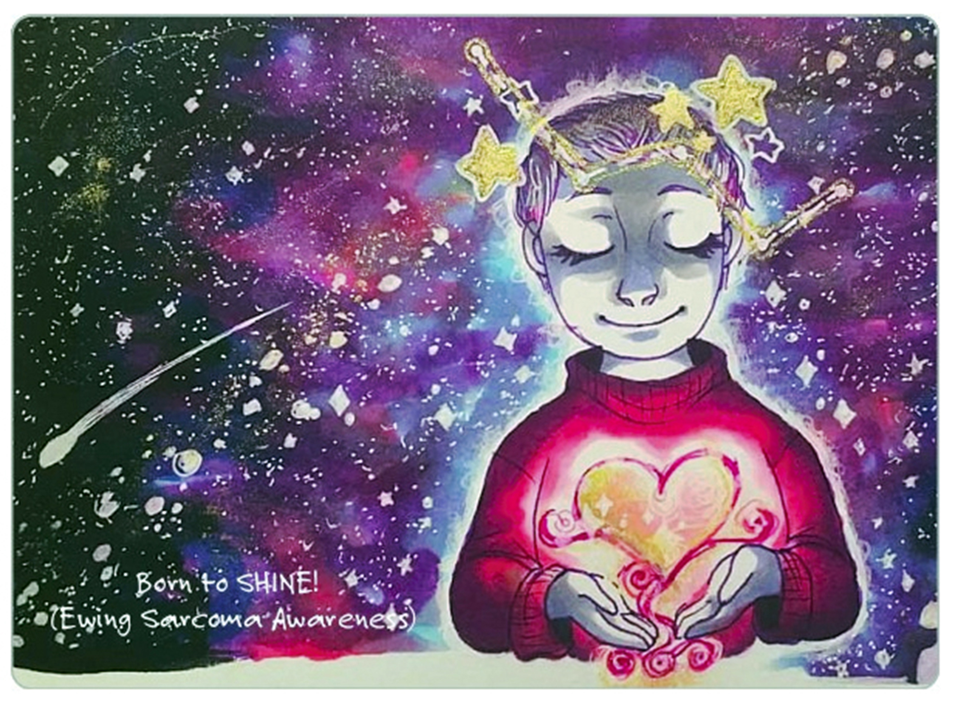 Cassi Tichy Let Your Love Shine Artwork