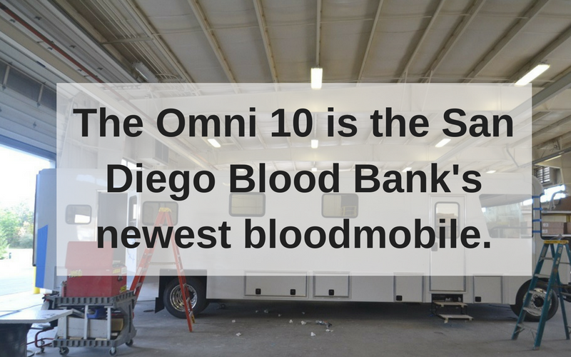 The making of a new bloodmobile