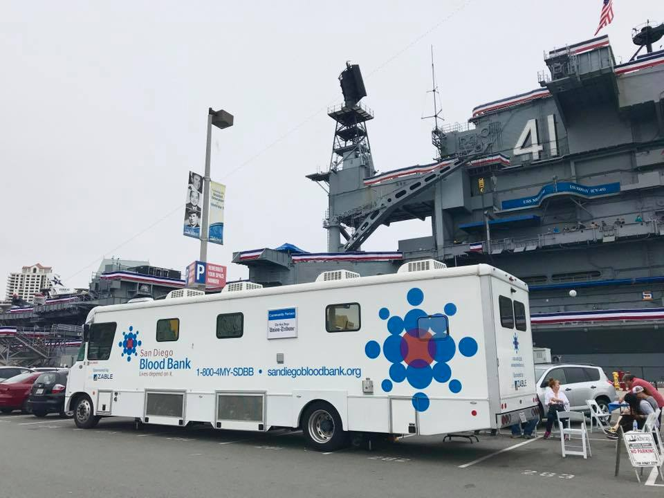 USS Midway Museum Blood Drive every Memorial Day