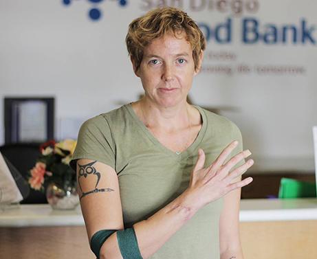 Elizabeth Earley Blood Donor