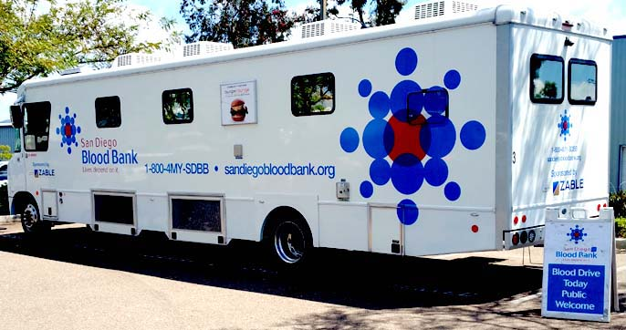 Blood Drive Bus